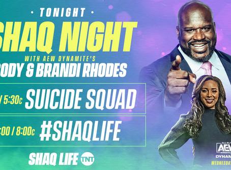 WarnerMedia Teases Shaq May Be AEW-Bound