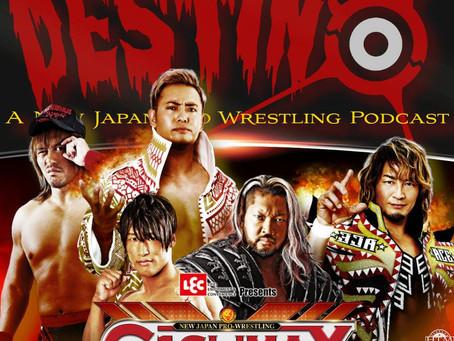 Destino NJPW Podcast - G1 Climax Update Nights 1-12!