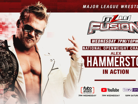 Hammerstone In Action This Wednesday On MLW FUSION