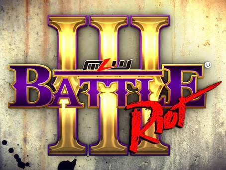 King Mo, Bu Ku Dao & Alex Kane Added To The Battle Riot