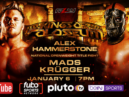Krügger vs. Hammerstone Title Fight Signed For MLW Kings Of Colosseum