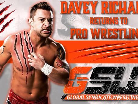 Davey Richards Makes His Wrestling Return For GSW