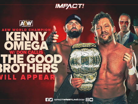 Kenny Omega & The Good Brothers Are Advertised For Next Week's IMPACT On AXS TV