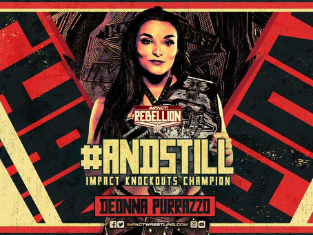 Deonna Purrazzo Retains IMPACT Wrestling KnockOuts Championship At Rebellion