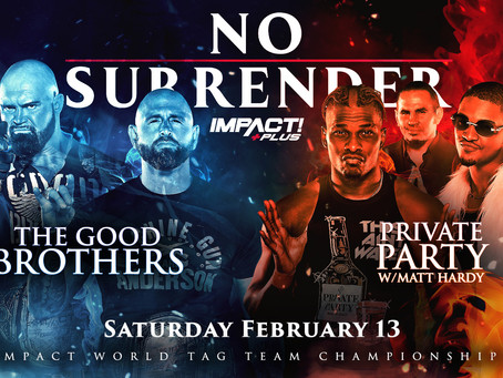 AEW Stars Set For Title Match At Impact No Surrender