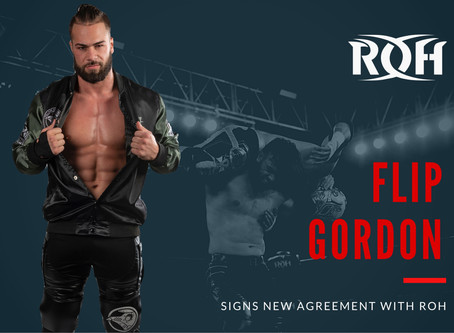 Flip Gordon Signs New Multi-Year Deal With ROH