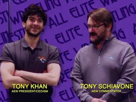 Tony Khan & Tony Schiavone Appear On IMPACT Wrestling
