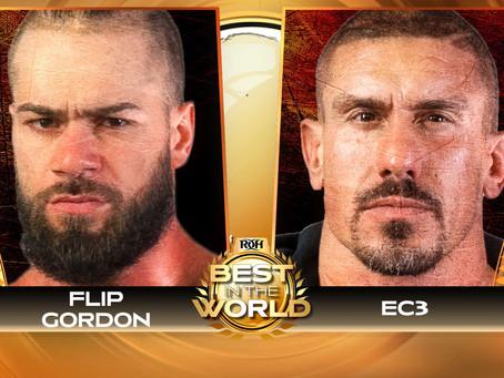 EC3 vs. Flip Gordon Announced For ROH Best In The World