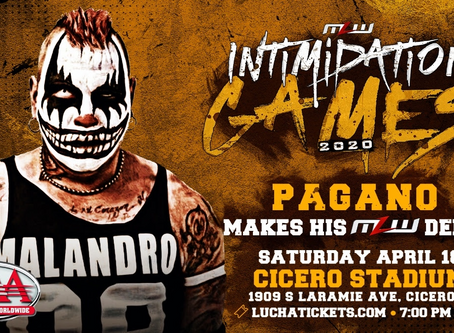 AAA's Pagano Promises Mayhem In MLW Debut In Chicago April 18