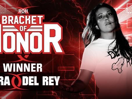 Sara Del Rey Wins Women's Bracket of Honor Championship