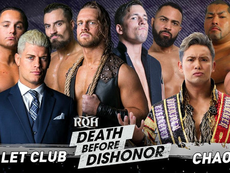 Bullet Club vs CHAOS Set For ROH's Death Before Dishonor