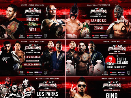 MLW FUSION Preview: Caribbean Strap Match, AAA Title Match