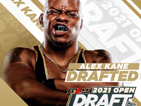 Alex Kane Signs With MLW