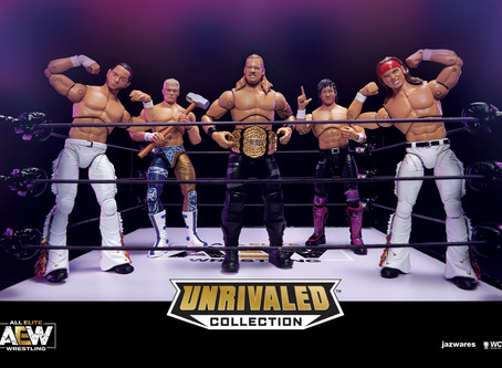 AEW Unrivaled Action Figure Collection To Come Out August 2020