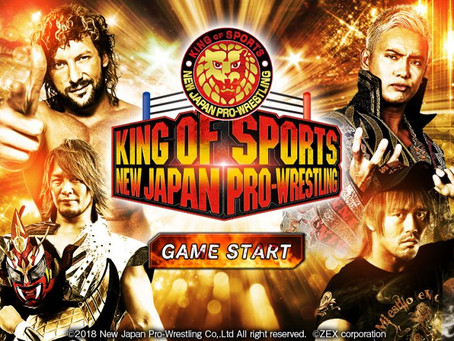 NJPW RELEASES 'KING OF SPORTS – NEW JAPAN PRO-WRESTLING' GAME FOR IOS AND ANDROID