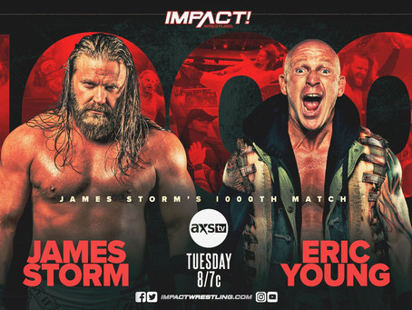 James Storm's 1000th IMPACT Match, Kenny Omega & More Set For Next Week