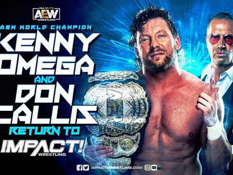 Backstage News On Kenny Omega Returning To IMPACT Wrestling