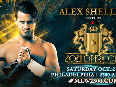 Alex Shelley Joins MLW, Enters Opera Cup