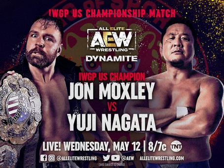 Jon Moxley To Defend IWGP US Title on 5/12 AEW Dynamite