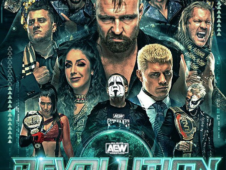 """AEW Partners With Cinemark Theatres To Host Highly Anticipated """"REVOLUTION"""" Event in Select Theatres"""