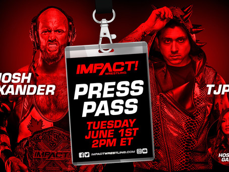 Josh Alexander & TJP Speak With The Media On June 1st In Advance Of Their 60-Minute Ironman Match