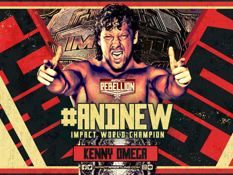 Kenny Omega Crowned New IMPACT Wrestling Champion At Rebellion