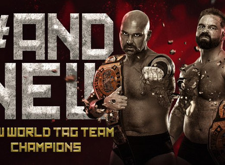 FTR Crowned New AEW Tag Team Champions At ALL OUT