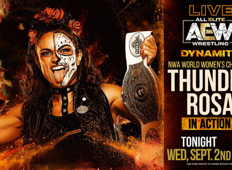 NWA's Thunder Rosa To Debut On AEW Dynamite Tonight