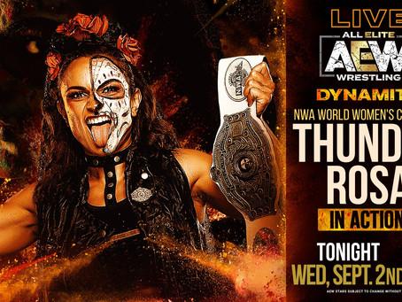 NWA's Thunder Rosa To Debut On AEW Dynamite Tonight