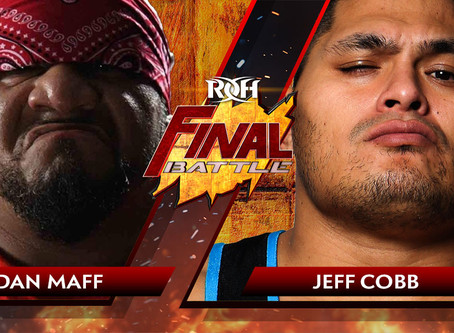 Jeff Cobb, Dan Maff Square Off For First Time At Final Battle