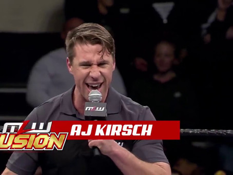 A.J. Kirsch Announces He's No Longer With MLW