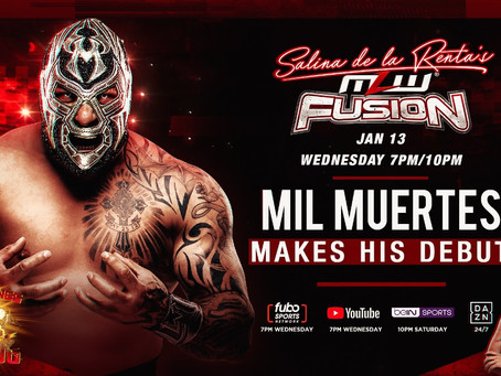 Mil Muertes Debuts Wednesday In MLW