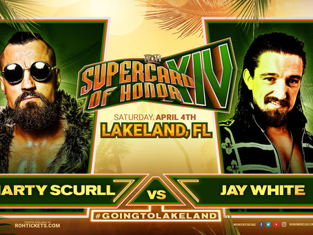 Challenge Accepted: Jay White vs Marty Scurll In A Dream Match At Supercard Of Honor!