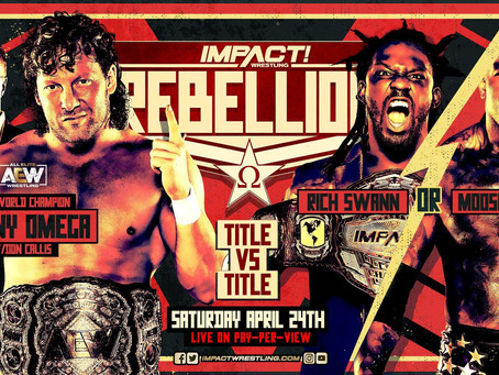 IMPACT Sacrifice Main Event Becomes Title vs. Title Bout, Kenny Omega Faces Winner At Rebellion