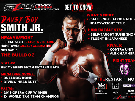 Davey Boy Smith Jr. Set To Return To MLW For The Restart