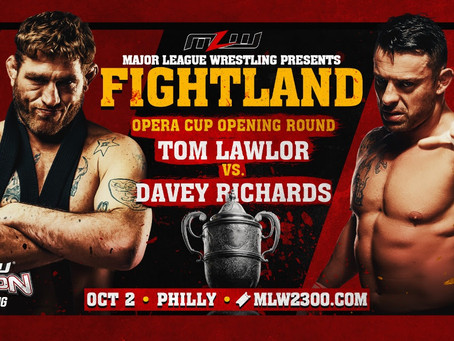Davey Richards vs. Tom Lawlor Signed For FIGHTLAND In Philly