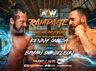 Bryan Danielson vs. Kenny Omega Announced For AEW Dynamite: Grand Slam