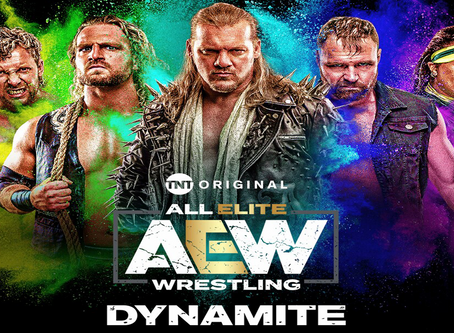Match Line Up For This Week's AEW Dynamite (7/22/2020)