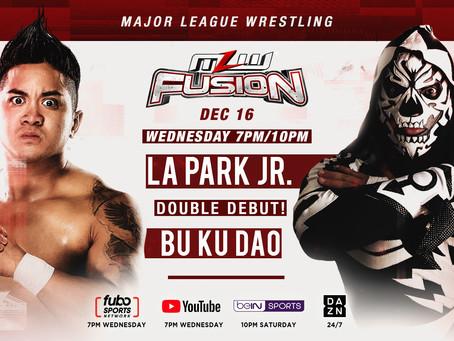 Bu Ku Dao And LA Park Jr. debut tomorrow night on FUSION