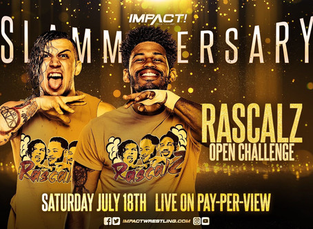 Open Challenge Tag Team Match Added To Impact Slammiversary Card