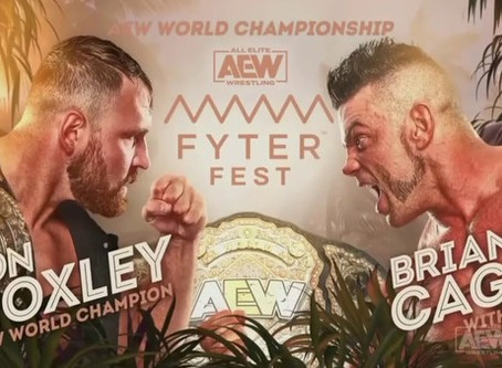 Full AEW Fyter Fest Card For Night 1 & 2