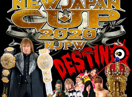 New Japan Cup 2020 Preview (Podcast)