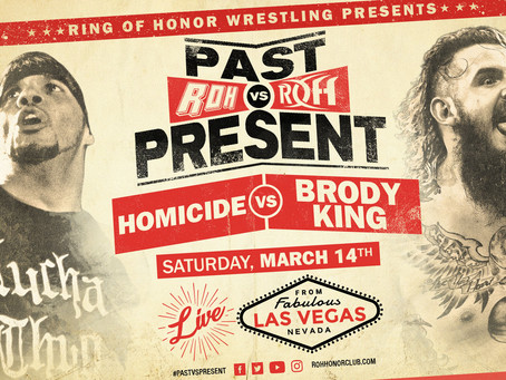 Former ROH World Champion Homicide Battles Brody King At Past vs Present