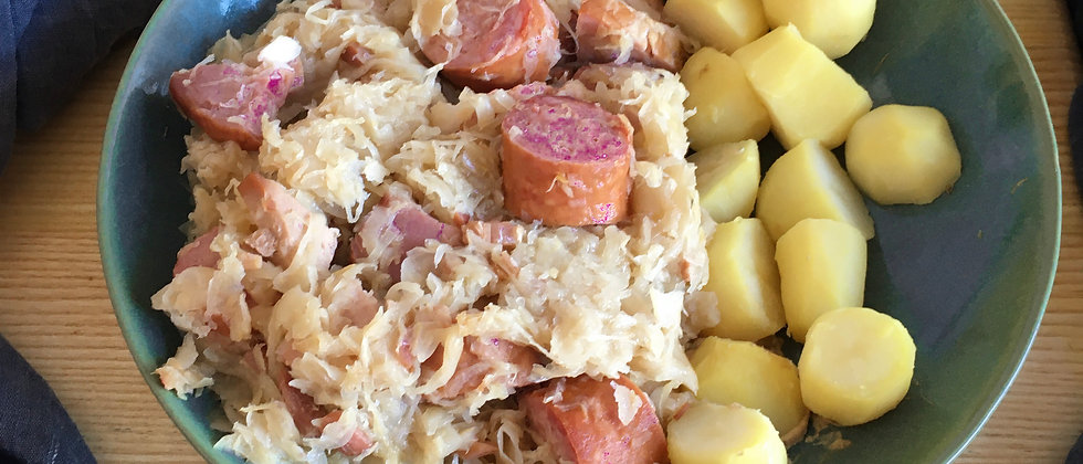 Pack 2 portions - Choucroute