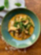 10. Curry de poulet au haricot et courge