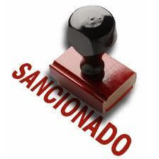 sanciones disciplinarias apercibimientos suspensiones