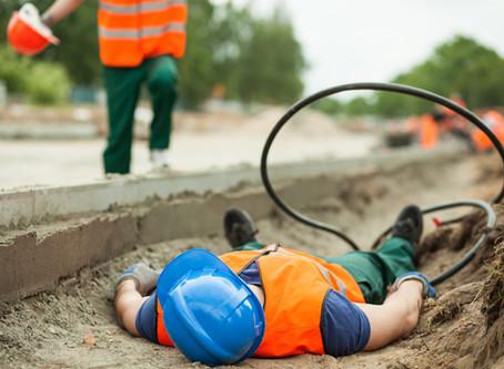 ¿Qué hago si sufro un accidente de trabajo?