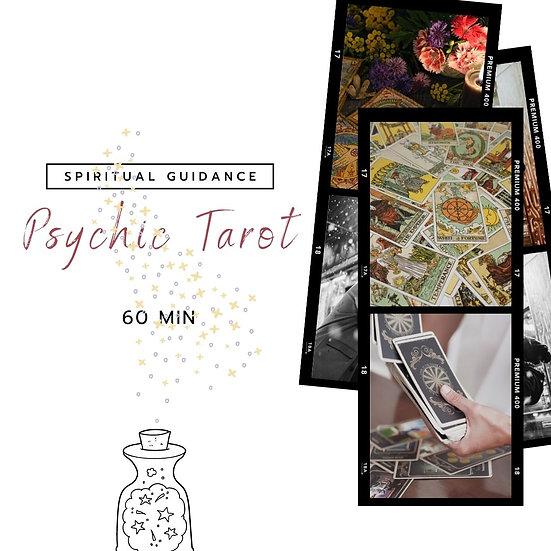 60 Min Psychic Tarot Reading