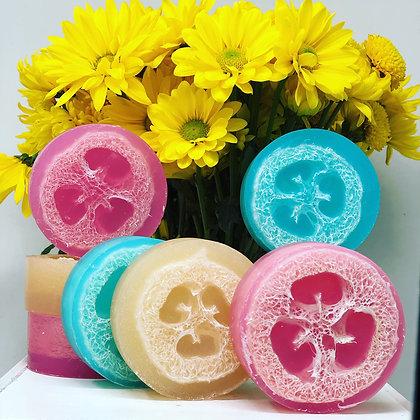 Loofah Soap Bar $6.50