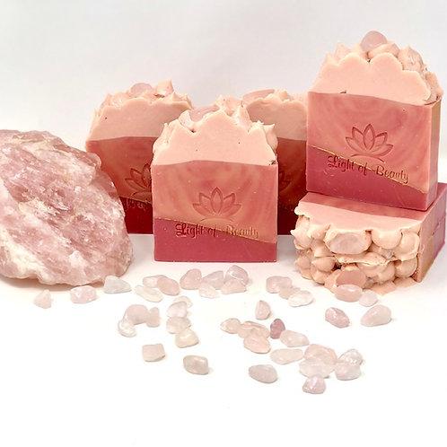 Rose Quartz Soap